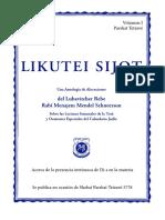 Likutei Sijot Tetzave 2018