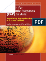 (Critical New Literacies) Indika Liyanage, Tony Walker (Eds.)-English for Academic Purposes (EAP) in Asia_ Negotiating Appropriate Practices in a Global Context-SensePublishers (2014)