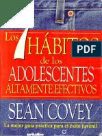 129-Los 7 Hábitos de los Adolescentes Altamente Efectivos - Sean Covey