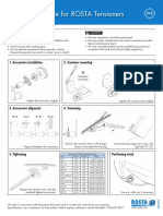 Installation Guidelines for Tensioners FLYER -1page