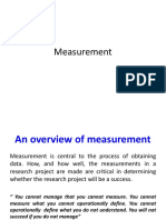 Lecture on Measurement