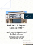 Bed Bath Beyond (BBBY) Stock Report