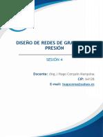 Diseño de Redes de Gravedad y Presión-sesión 4