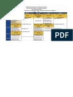 Horarios 2018-2 Psicología Social Cuarto Semestre .Xlsx