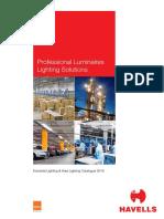Industrial & Area Lighting Catalogue 2016