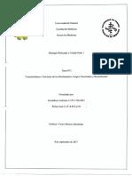"""""""Características y Funciones de los Bioelementos, Grupos Funcionales y Biomoléculas"""""""