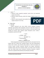 Instrumentasi Industri Jobsheet 1 Penguat Non Inverting