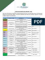 Lista Das Escolas NELs 2018