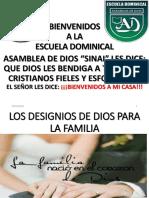 Los Designios de Dios Para La Familia Smart