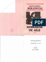 Komunizm Ve Aile - Alexandra Kollantai