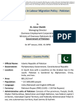Recent Changes in Labour Migration Policy - Pakistan