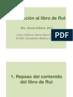 Introducción al libro de Rut