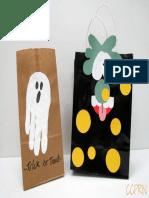 Halloween Post Tort Bags