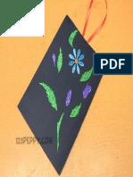 Hanging Flower Frame
