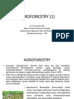 Pertemuan 5 Agroforestry 1 Baru
