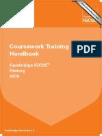 0470 History Coursework Training Handbook 2013 WEB (1)