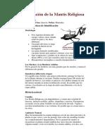 Información de la Mantis Religiosa.docx