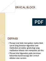 Paraservical Block