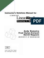 Solucionario Álgebra Lineal – Stanley I. Grossman 5ed Reducido