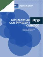 Educacion Ambiental Con Enfasis en Cambio Climatico