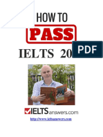 How to Pass Your IELTS Test in 2018
