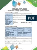 Guía de Actividades y Rúbrica de Evaluación Fase 1. Contextualizar Al Estudiante en La Mecanización Agrícola