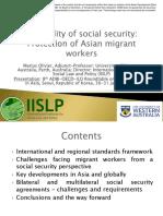 Portability of Social Security
