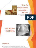 Distrés Respiratorio Neonatal - Parte I