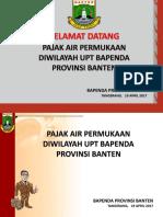 MATERI PUPR 190417, Bapenda Prov Banten