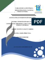 Contextos de Aprendizje La Educacion Formal, No Formal e Informal