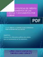 Unidad 5 Politicas de Crédito y Procedimientos De