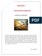A Project report on comparative analysis of Emirates and Lufthansa