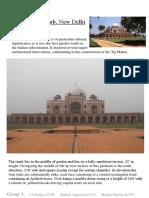 Humayun Tomb Initial Report