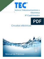 Prácticas circuitos eléctricos