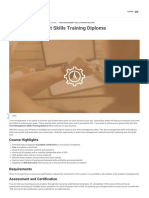 Time Management Skills Training Diploma Visio Learning