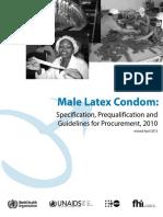 Male Condom