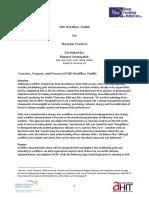 EHR Workflow Toolkit - Margret Amatayakul