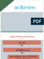Materi 4 Item Review (Urip Rahayu)