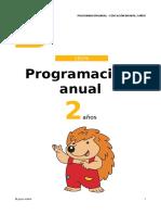 Programacion Anual 2 Aos Cet