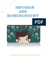 Confusion and Homoeopathy