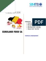 Euroland Food SA Case Study - Syndicate ABD2G