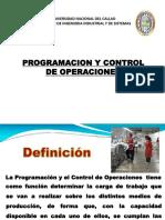 Clase 5- Programacion y Control de Las Operaciones