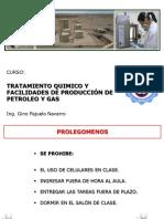 Tratamiento Químico de Petróelo y gas
