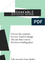 Unshakable V.1