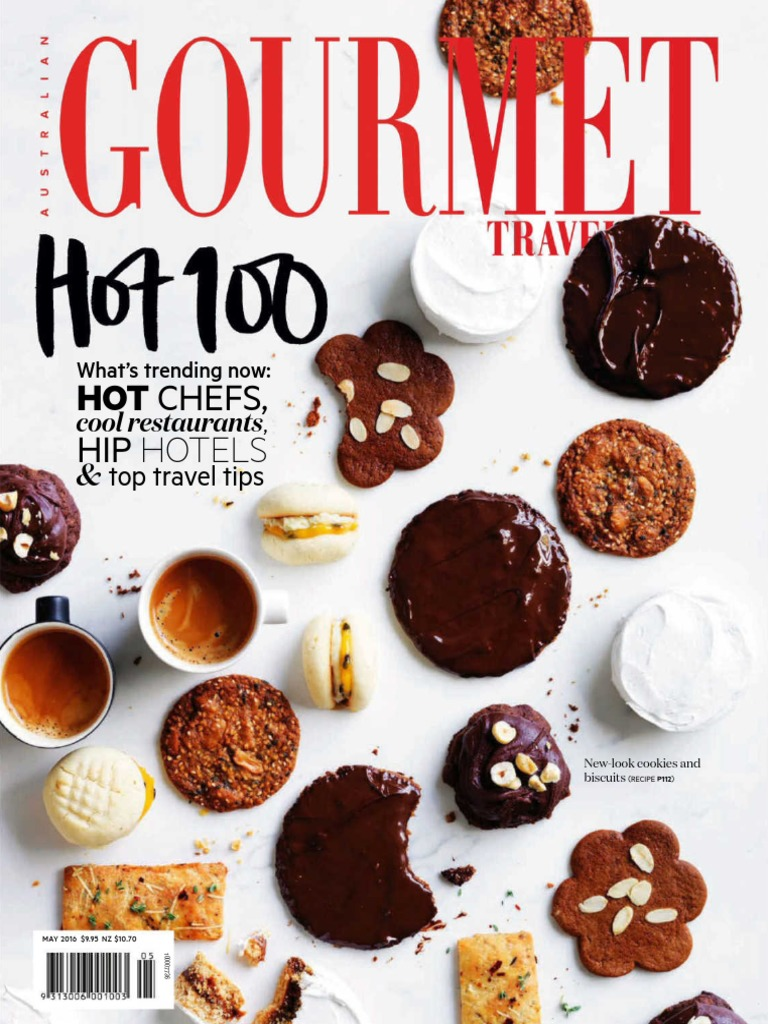 Gourmet Traveller Au 2016 05 New Look Cookies Biscuits Bacon Mecca Maxy Waffle Ori Import 3 Camel Coffee