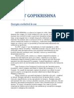 Yoga - Gopi Krishna - Energia Evolutiva In Om