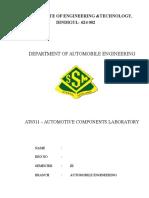 Automotive lab-Manual