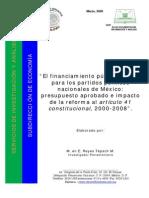 FINANCIAMIENTO PARTIDOS