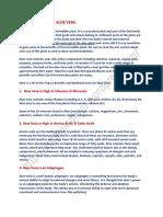 Top 12 Benefits of Aloe Vera