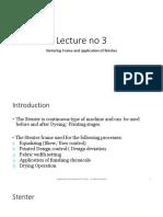 Lecture No 3